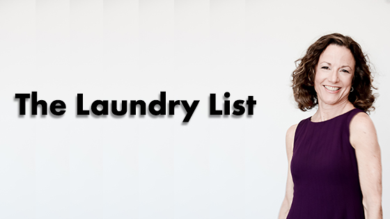 The Laundry List: 5 Different Ways to Write Your About Page, Part III