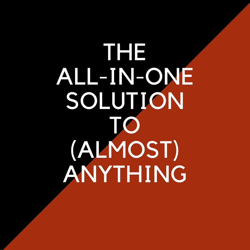 The All-in-One Solution to (Almost) Anything in Your Business